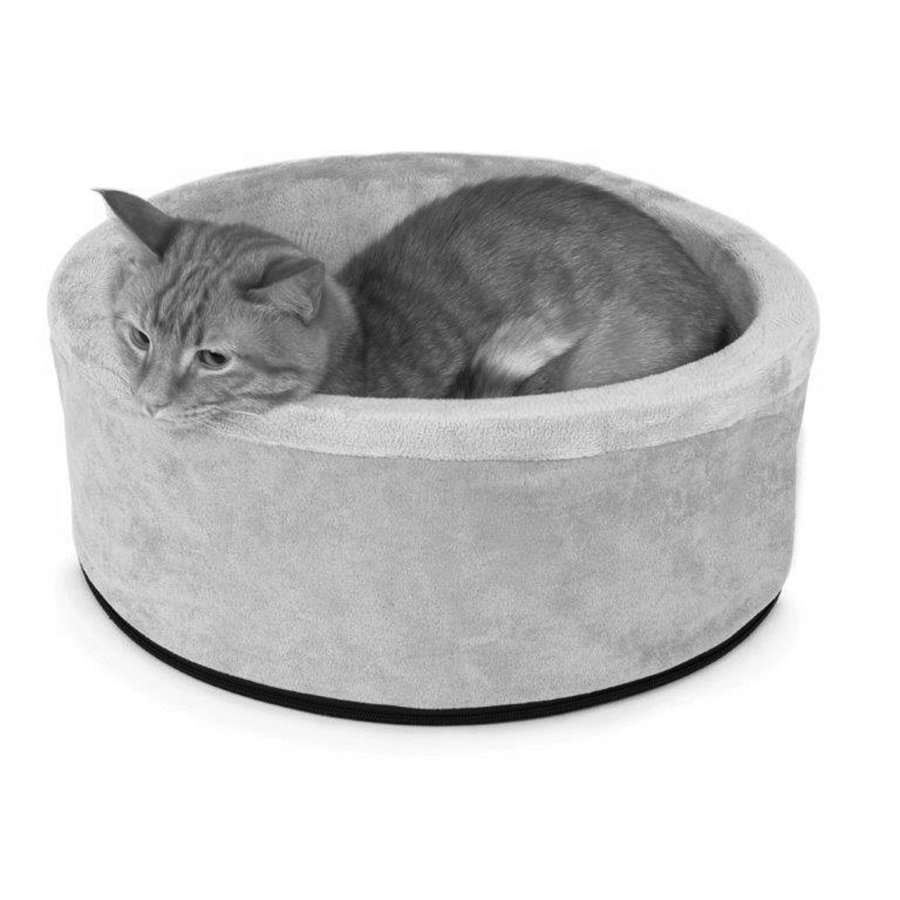 heated kitty bed