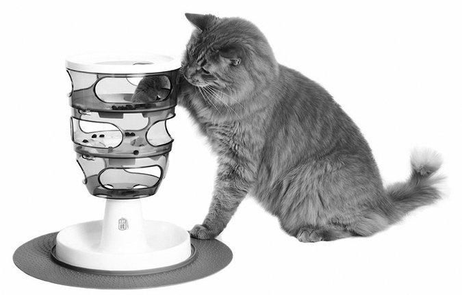 cat food puzzle device